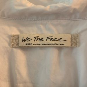"""Free People Tops - We the Free """"Every way you go"""" top XL"""